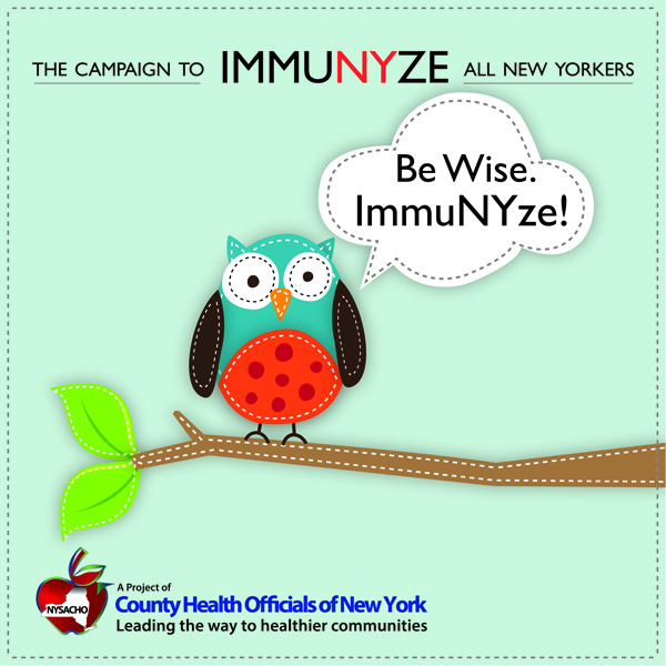 The Campaign to Immunyze All New Yorkers Kicks off Again in October